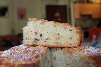Dolci: Torta mele, cannella e noci