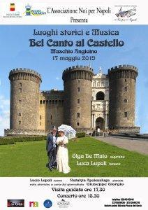 Bel Canto al Maschio Angioino per il Maggio dei Monumenti 2019 a Napoli