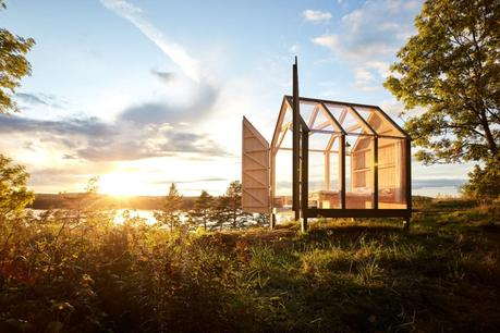 In Svezia c'è un casetta in vetro dove ritrovare sé stessi
