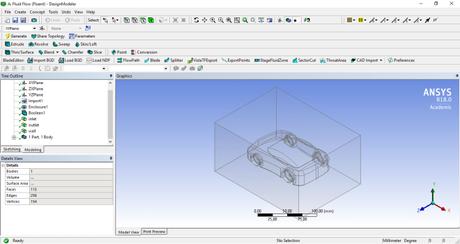 Simulare l'aerodinamica di un veicolo con ANSYS