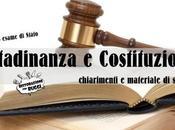 Cittadinanza Costituzione: Appunti stampare