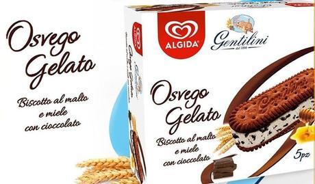 Gentilini lancia Osvego Gelato, nuova versione del mitico biscotto
