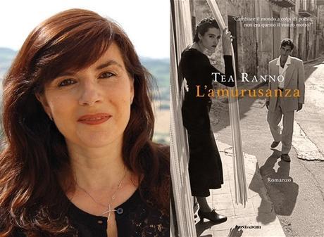 """TEA RANNO con """"L'amurusanza"""" (Mondadori) in radio a LETTERATITUDINE"""
