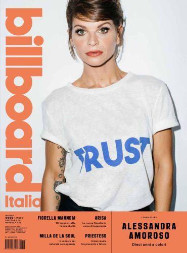 C.S._BILLBOARD ITALIA dedica il numero di maggio alle donne della musica con la cover story di ALESSANDRA AMOROSO