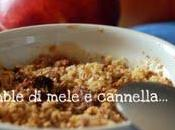 Crumble mele cannella