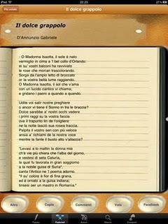 Per tutti gli amanti della poesia l'app iPoesia.