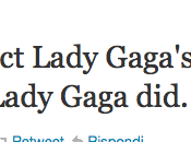 video Edge Glory diretto Lady Gaga