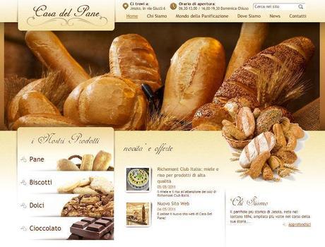 Online il sito web della casa del pane paperblog for Sito web di progettazione della casa
