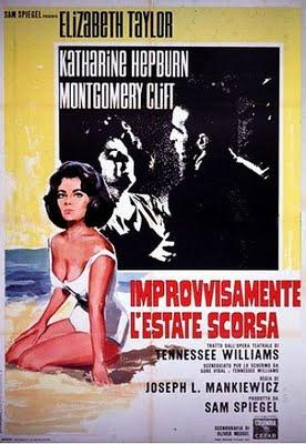 Suddenly, Last Summer di Joseph L. Mankiewicz. A music made out of noise