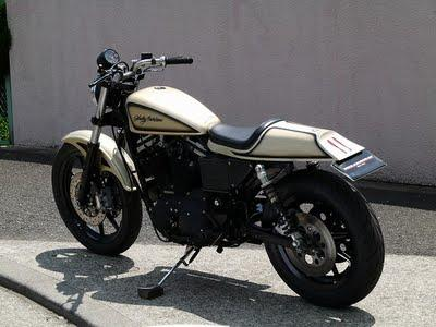 Harley Sportster  by BlackChrome