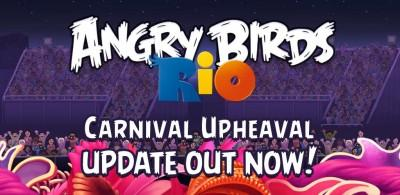 carnival upheaval 400x195 Angry Birds Rio Carnival Upheaval disponibile nel Market Android