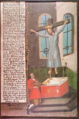 Santa Vilgefortis, la donna barbuta crocifissa