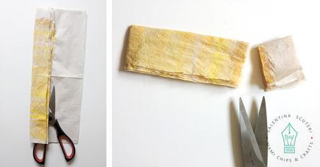 Fiori in carta riciclata
