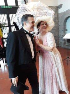 """Grande successo e consensi per il Recital lirico """" Bel Canto al Castello """"al Maschio Angioino dell'Associazione Culturale Noi per Napoli"""