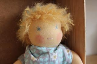 Bambole Waldorf: le coccolose
