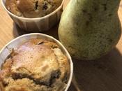 Muffin pere uvetta zenzero cannella