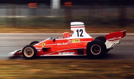 Niki Lauda vince il GP del Belgio 1975, diventando leader del mondiale