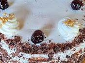 Torta girella alla crema cioccolato.