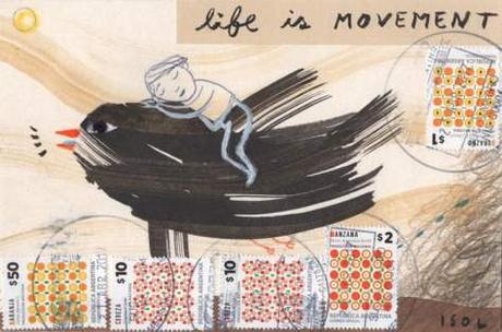 Vite in movimento.