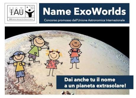 Dai anche tu un nome ad un pianeta extrasolare!