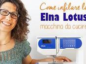 Come infilare Elna Lotus macchina cucire