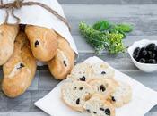 Sfilatini semintegrali alle olive, veloci senza glutine