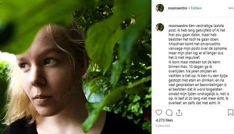 """Le bufale sulla morte di Noa Pothoven: """" Non si vive di sole Bufale"""""""