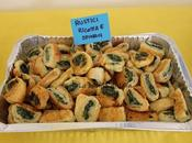 Finger food: Rustici ricotta spinaci