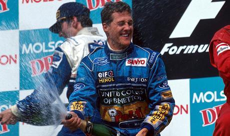 Hat trick di Michael Schumacher in Canada 1994