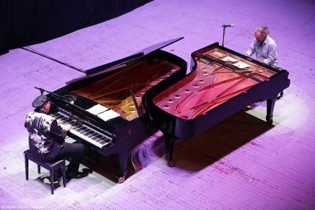 C.S._ Bollani e Valdès // Piano a Piano alle Terme di Caracalla