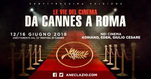 """""""Le vie del cinema da Cannes a Roma"""""""