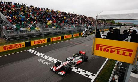 La favola di Jenson Button da ultimo a primo in Canada 2011