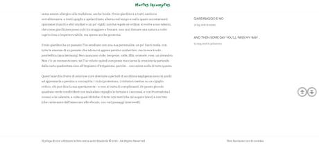 "Vi segnalo il blog ""Hortus Incomptus"""