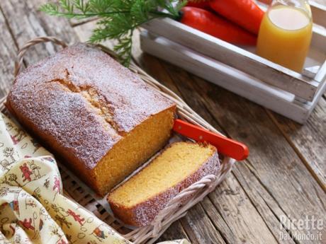 Plumcake alle carote soffice