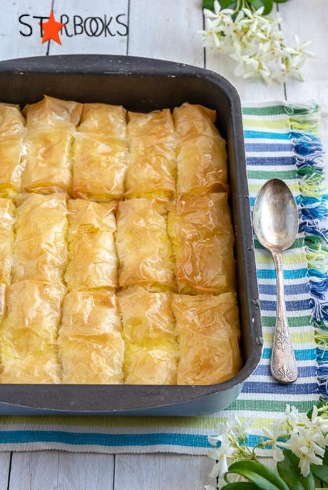 Il Galatoboureko ed il sapore di Cipro