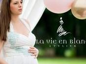 Villa Trebazia Blanc Atelier omaggia bellezza della maternitá vestendo protagoniste dello shooting Erika Morgera