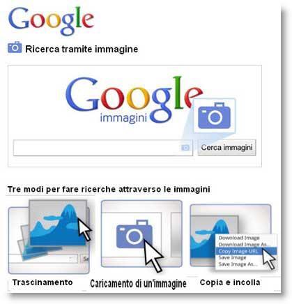 Google introduce la ricerca tramite immagini paperblog for Ricerca per immagini google