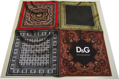 D&G; Menswear Fashion Show p/e 2012 Invitation