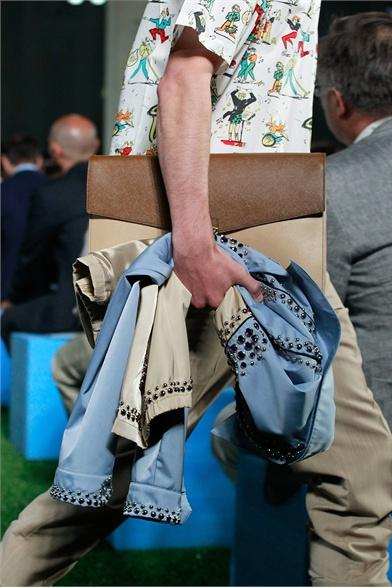Prada, let's play golf with Miuccia [MilanoModaUomo SS 2012]