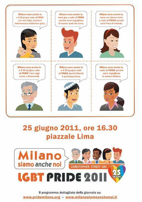 CHRISTOPHER STREET DAY - PRIDE MILANO 25 GIUGNO 2011
