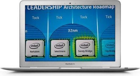 Sandy Bridge MacBook Air 3 processori Sandy Bridge per i nuovi MacBook Air