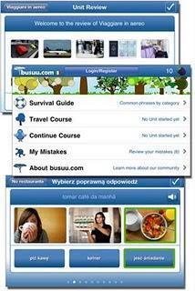 Imparare l'inglese mentre sei all'estero con l'app busuu.com