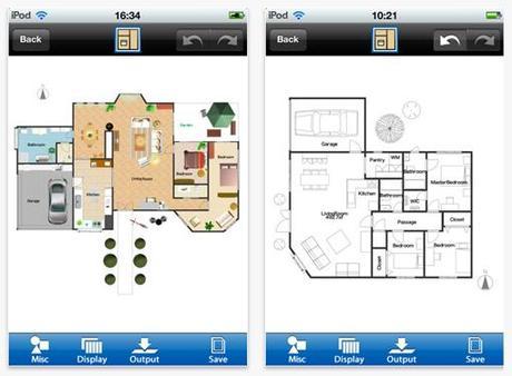 Room design progetta la tua casa con un app paperblog for Progetta la tua planimetria online