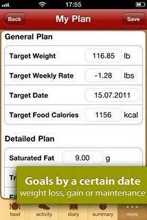 Contacalorie: diete & allenamenti.