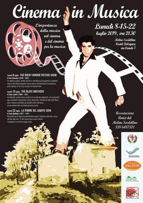 """Castel Bolognese (Ra): Luglio al Molino Scodellino all'insegna del cinema con """"Cinema in Musica"""""""