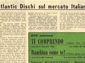 Aprile 1960 Appare Italia l'etichetta ATLANTIC
