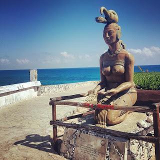 Isla Mujeres - dee, iguane e pic nic al cimitero