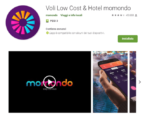 App per organizzare viaggi: novità 2019? Momondo ha capito come aiutarvi