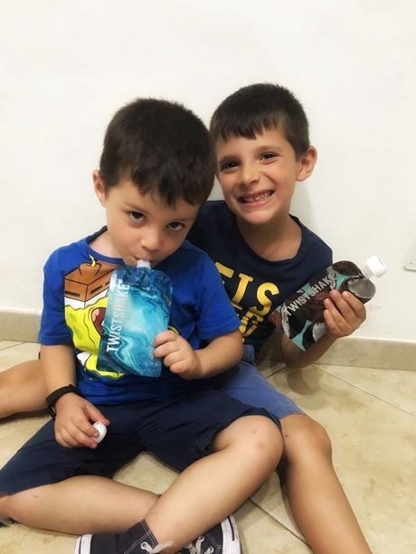 Succo di frutta per bambini