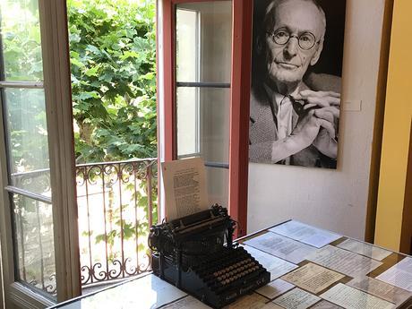 Il tavolo da lavoro di Hermann Hesse